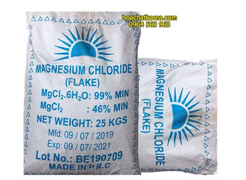 MgCl2.6H20 vảy Chất ổn định môi trường nước ao nuôi và cân bằng khoáng chất