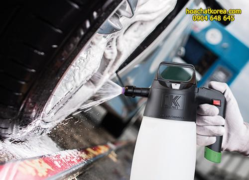 Bình phun xịt hóa chất dùng với hóa chất dạng bọt IK Foam Pro 12