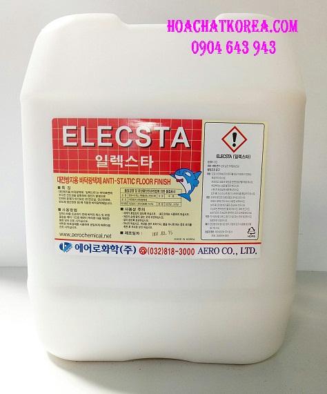 Chất phủ bóng sàn chống tĩnh điện ELECSTA