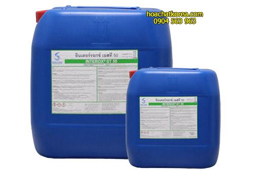 H2O2 Chất sát khuẩn khử trùng và xử lý nước trong hồ