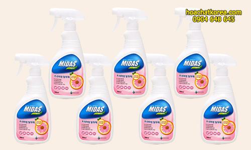 Hóa chất khử mùi MIDAS Premium Deodorant