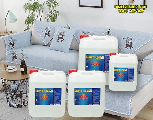 Carpet Clean chứa thành phần non-ion thẩm thấu sâu vào bề mặt giúp đánh tan hiệu quả các vết bẩn khác nhau