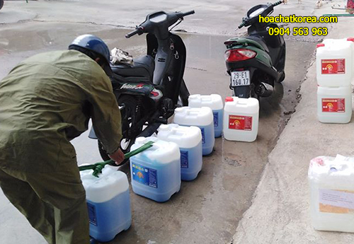 Các loại hóa chất dùng trong vệ sinh công nghiệp được HÓA CHẤT KOREA phân phối đều được kiểm định