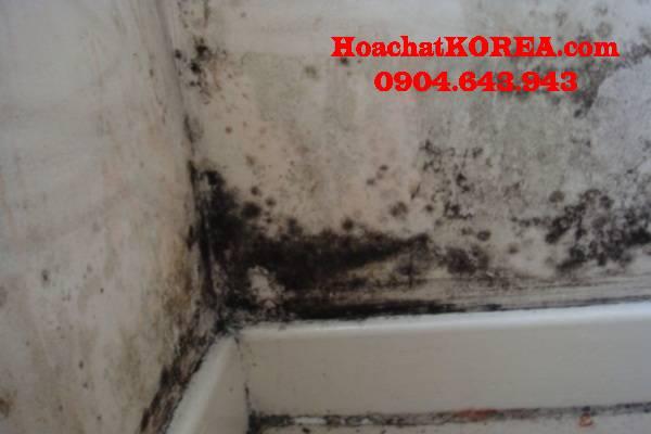 Cách vệ sinh vết bẩn trên tường
