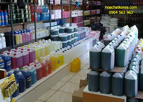 Hóa chất dùng trong vệ sinh công nghiệp là các loại chuyên dụng sử dụng trong vệ sinh công nghiệp
