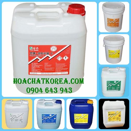 Bộ hóa chất giặt là chuyên dụng cho máy giặt công nghiệp