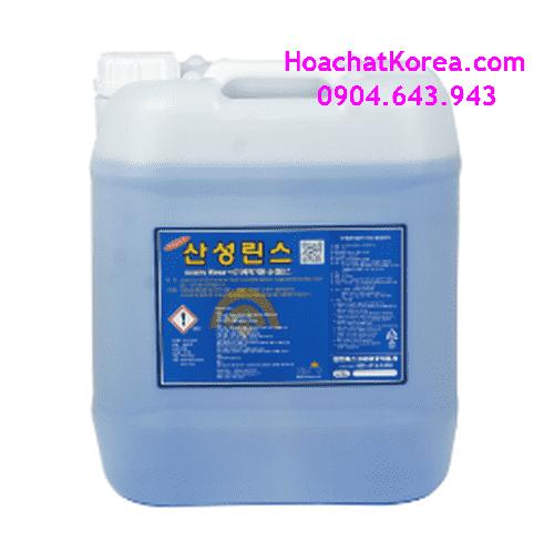 Nước tráng dành cho máy rửa bát công nghiệp