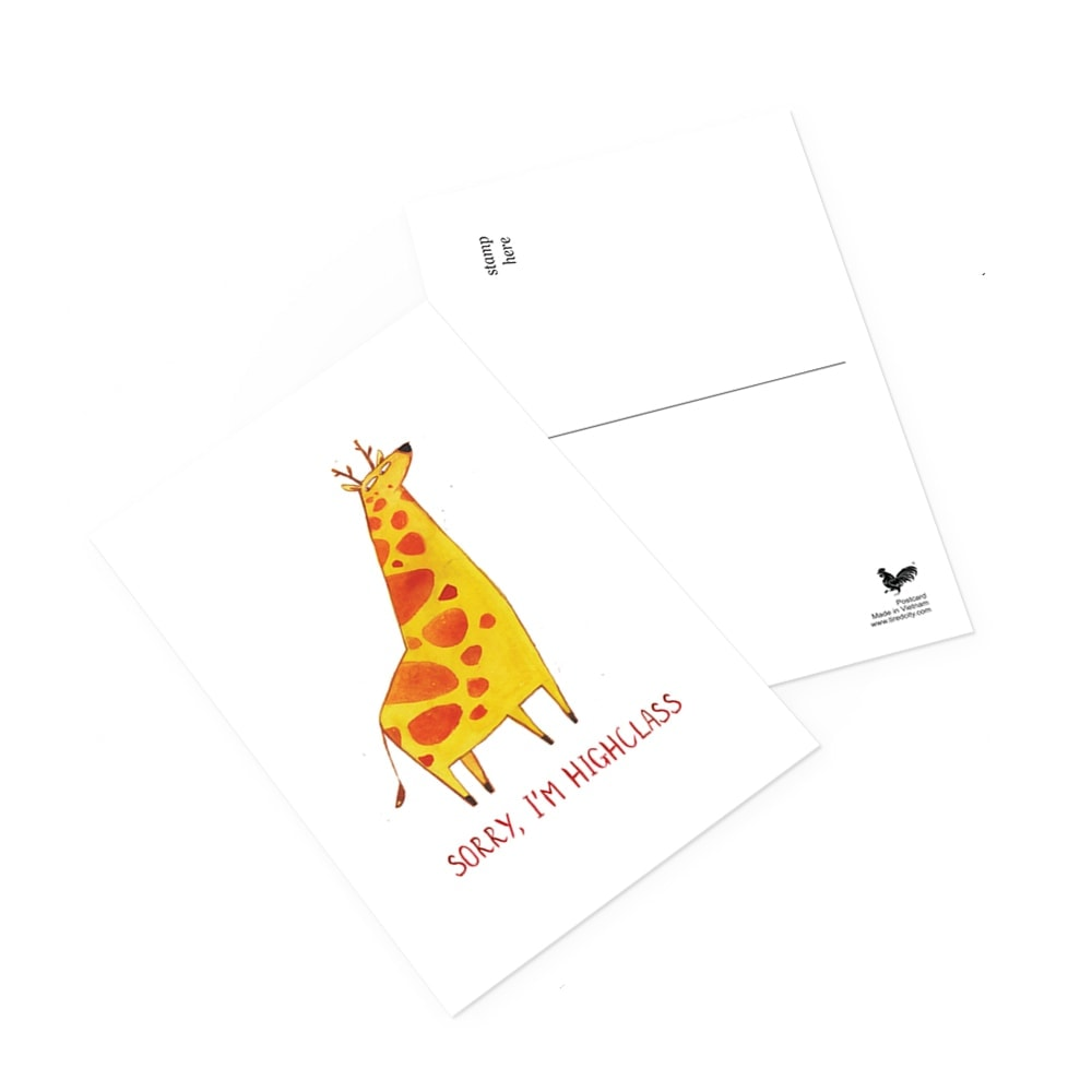 Sorry, I'm Highclass Postcard