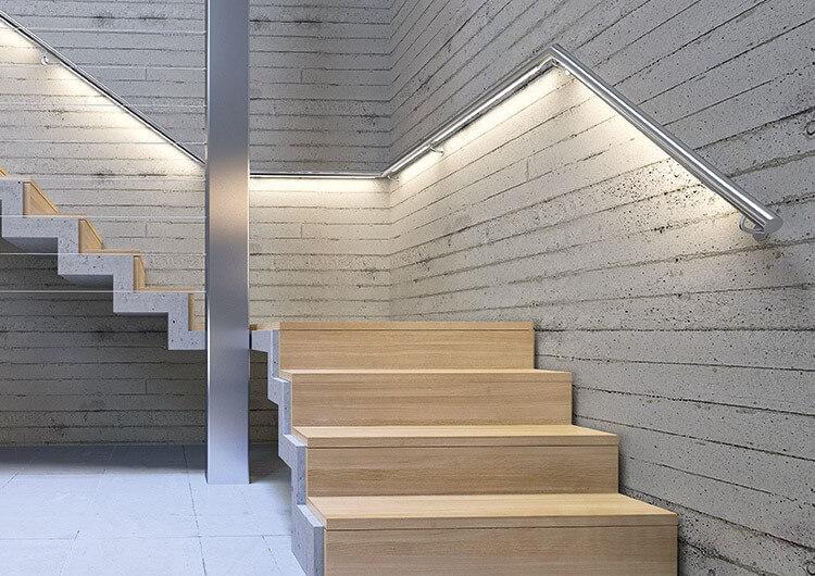 đèn led dây chiếu sáng cầu thang bộ