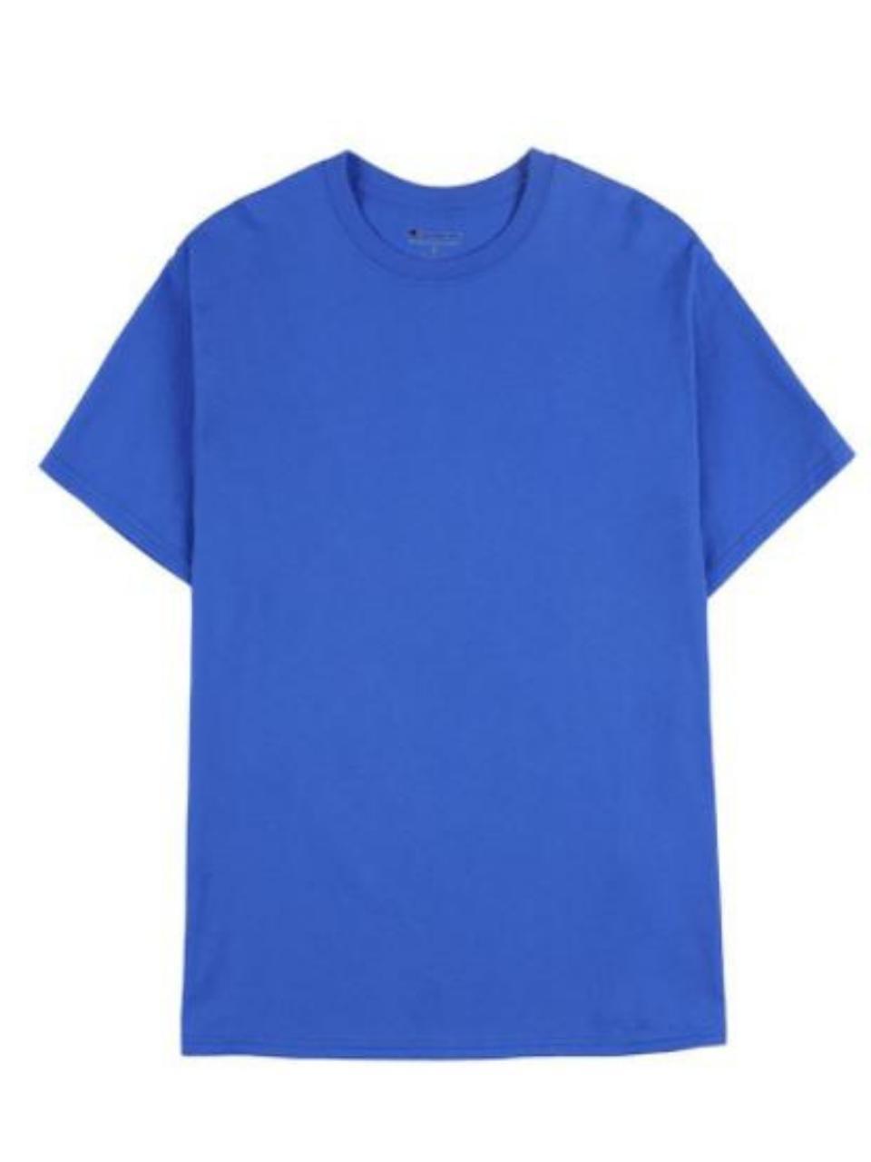 T-SHIRT CHAMPION LOGO TAY / XANH BLUE