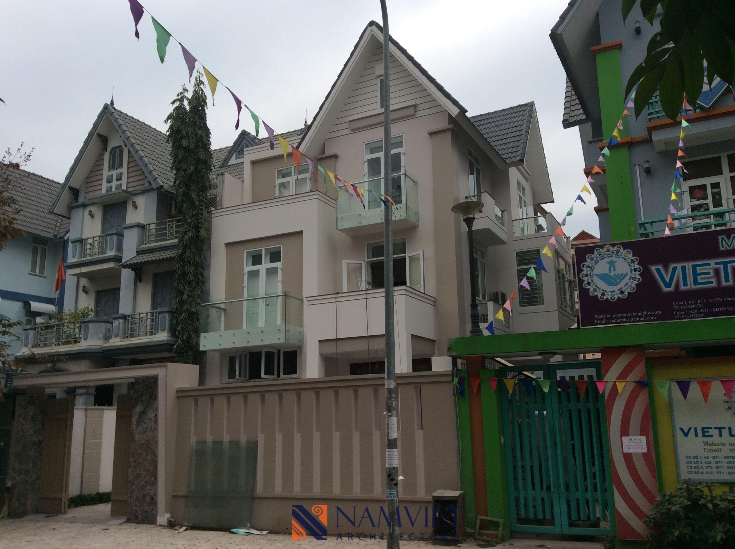 Thiết kế thi công biệt thự Văn Quán Anh Hải