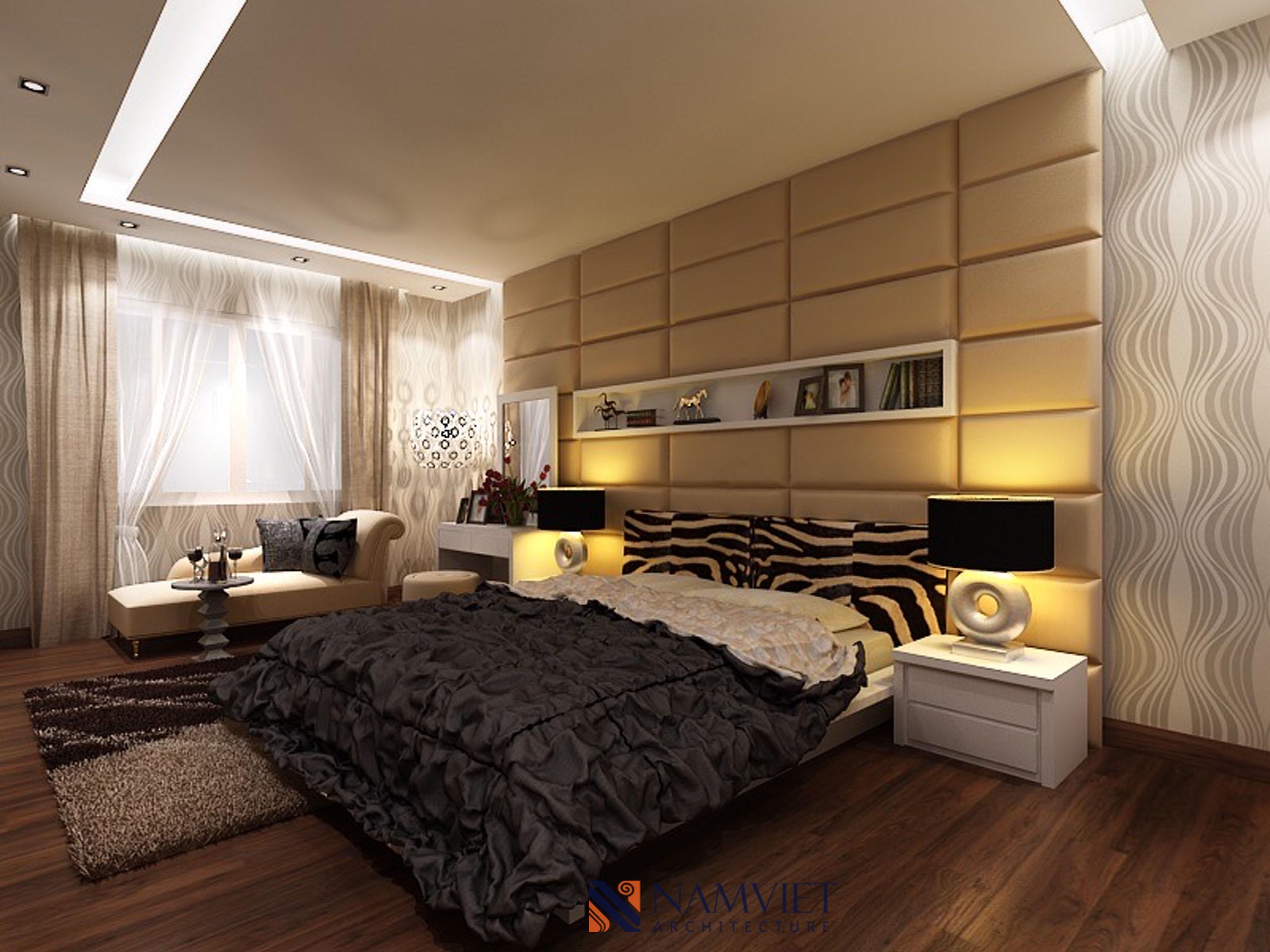Thiết kế thi công căn hộ anh Hoan - Keangnam