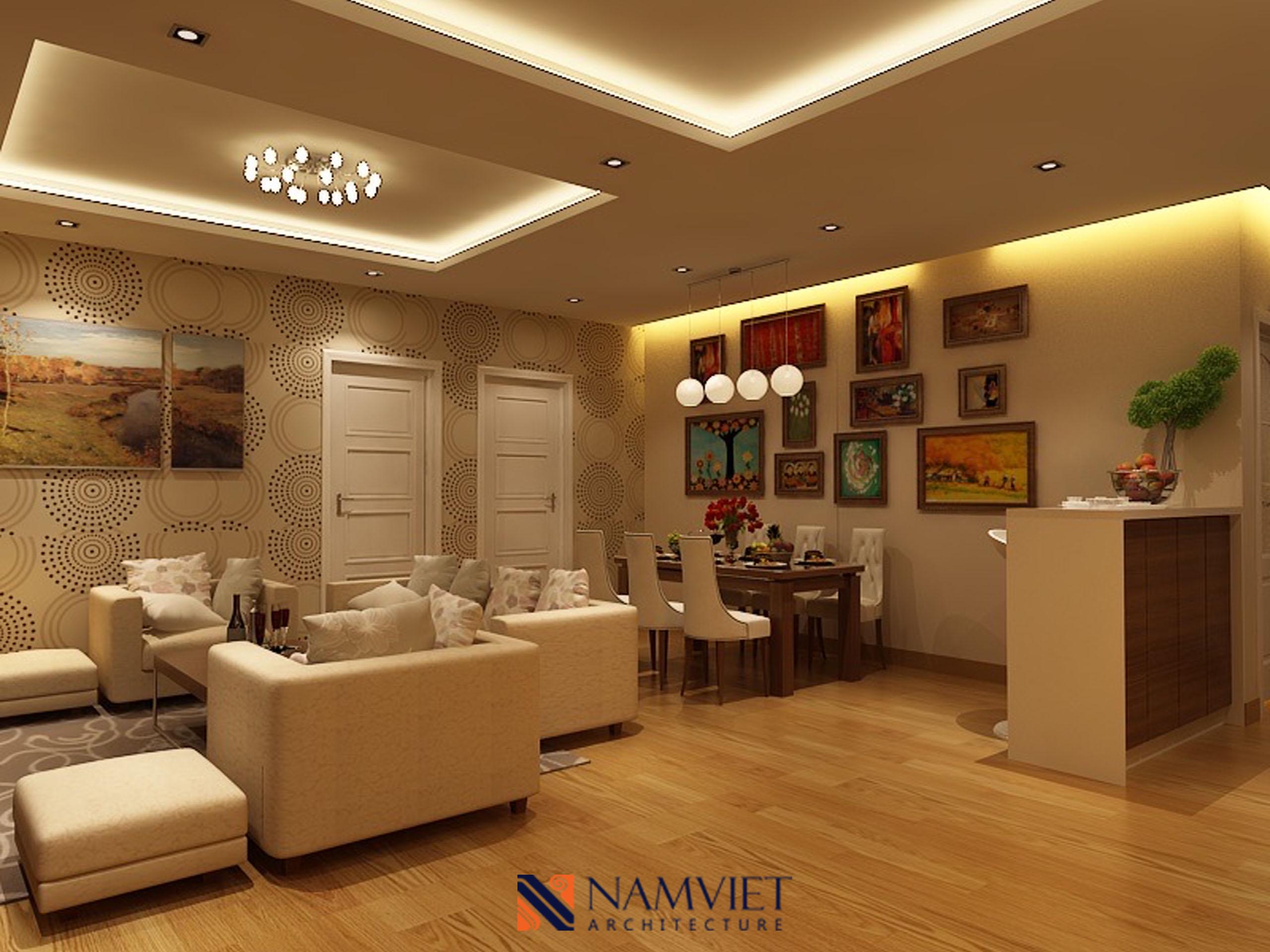 Thiết kế thi công căn hộ Em Linh - Eurowindow Trần Duy Hưng