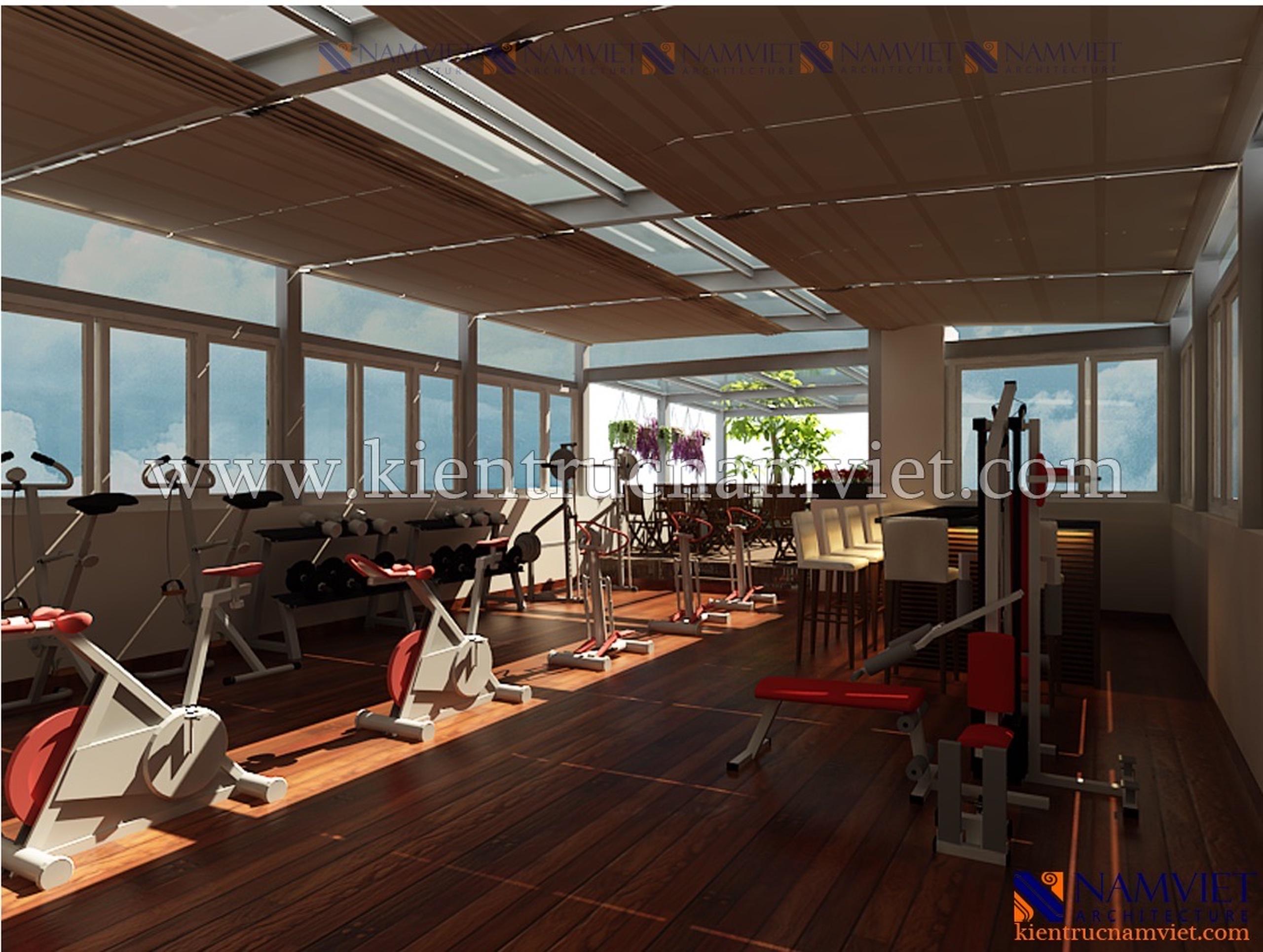 Thiết kế thi công khách sạn Số 15 Phan Đình Phùng - Anh Hòa