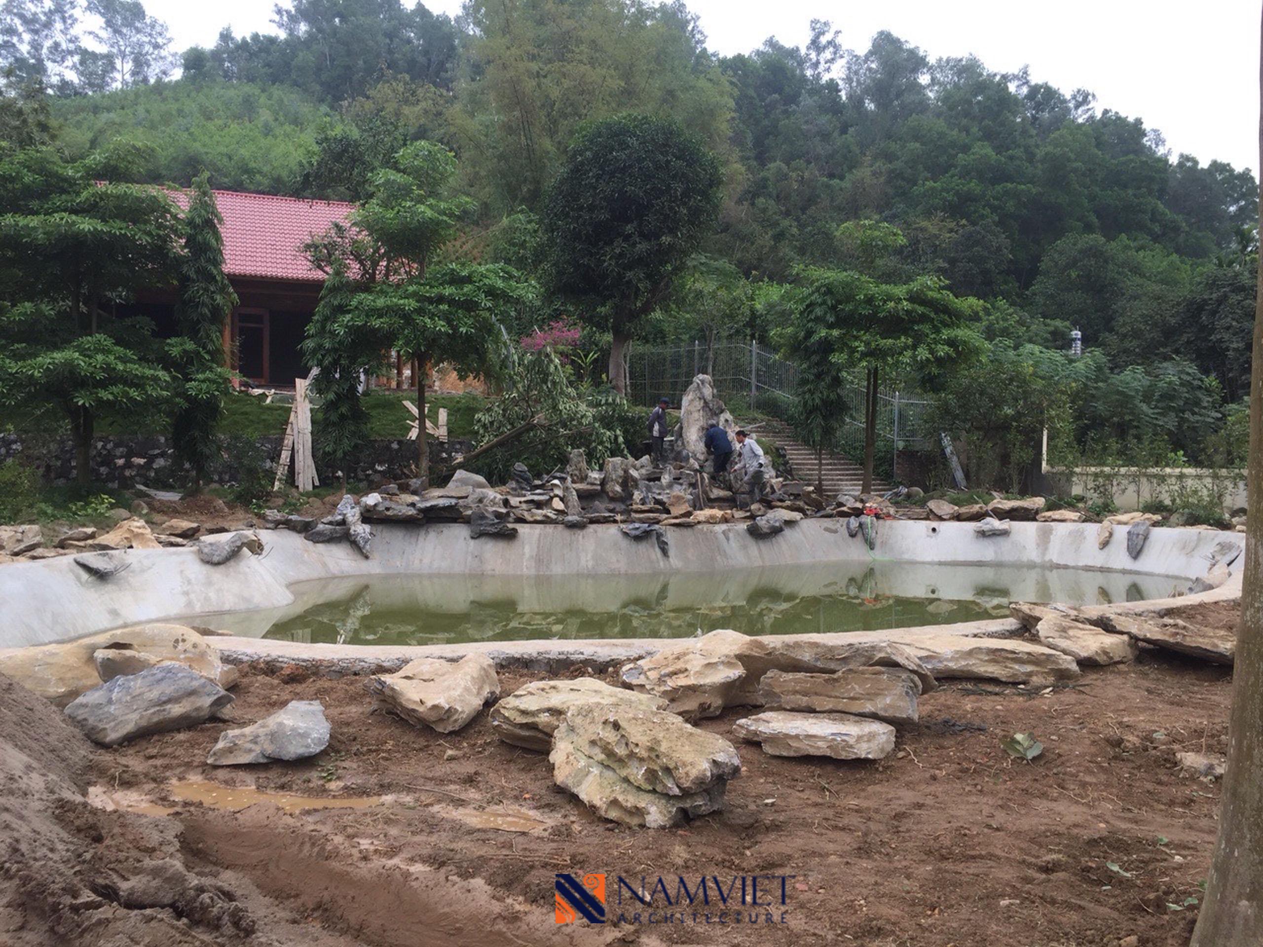 Thiết kế thi công khu trải nghiệm Thái Nguyên