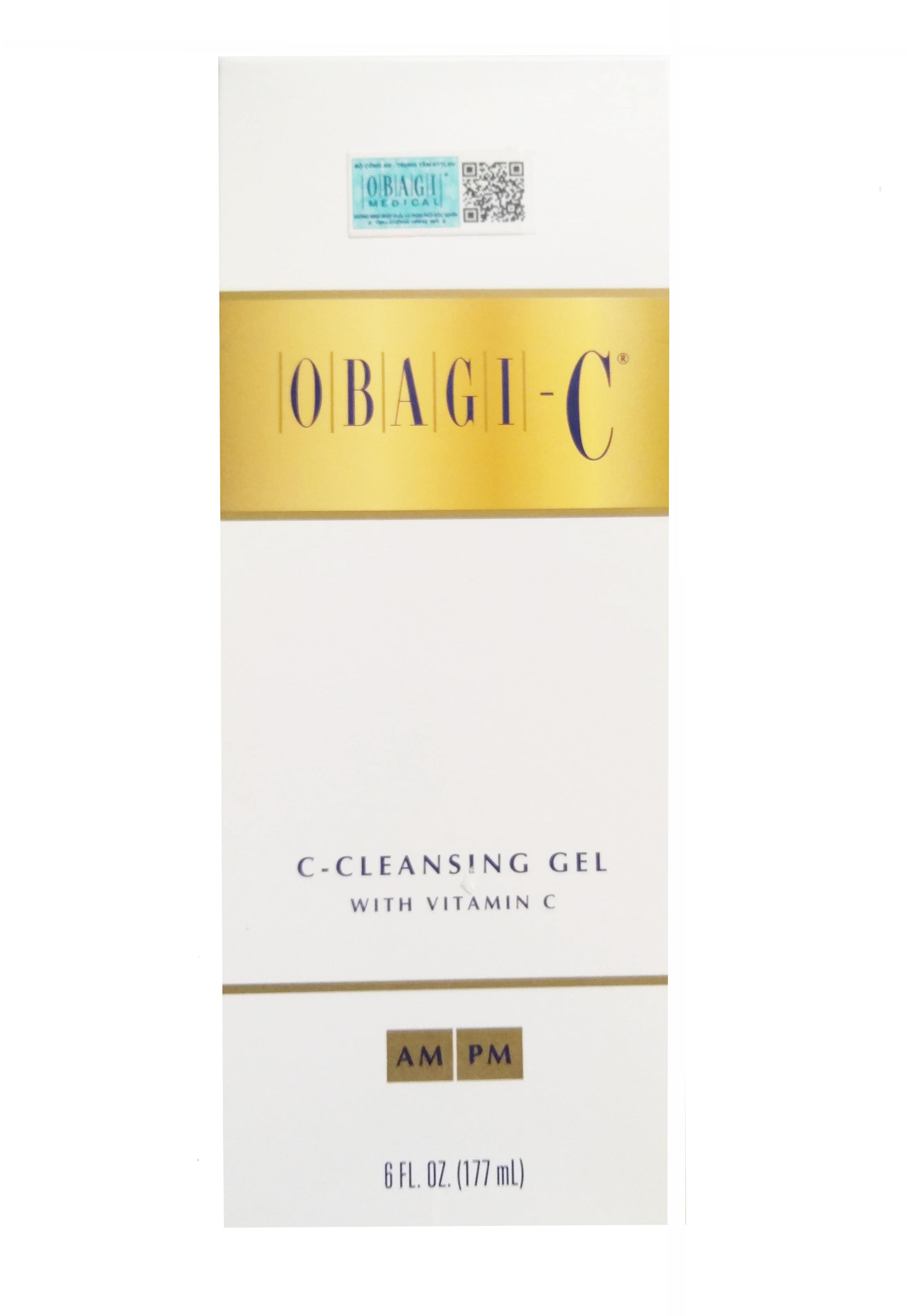 Sữa Rửa Mặt Sáng Da Obagi C Rx Cleansing Gel