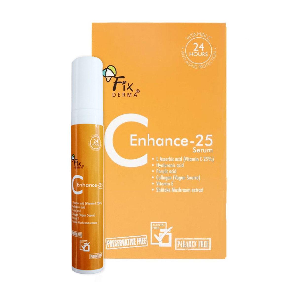 Serum Tái Tạo Da Fixderma C Enhance 25 (15ml)