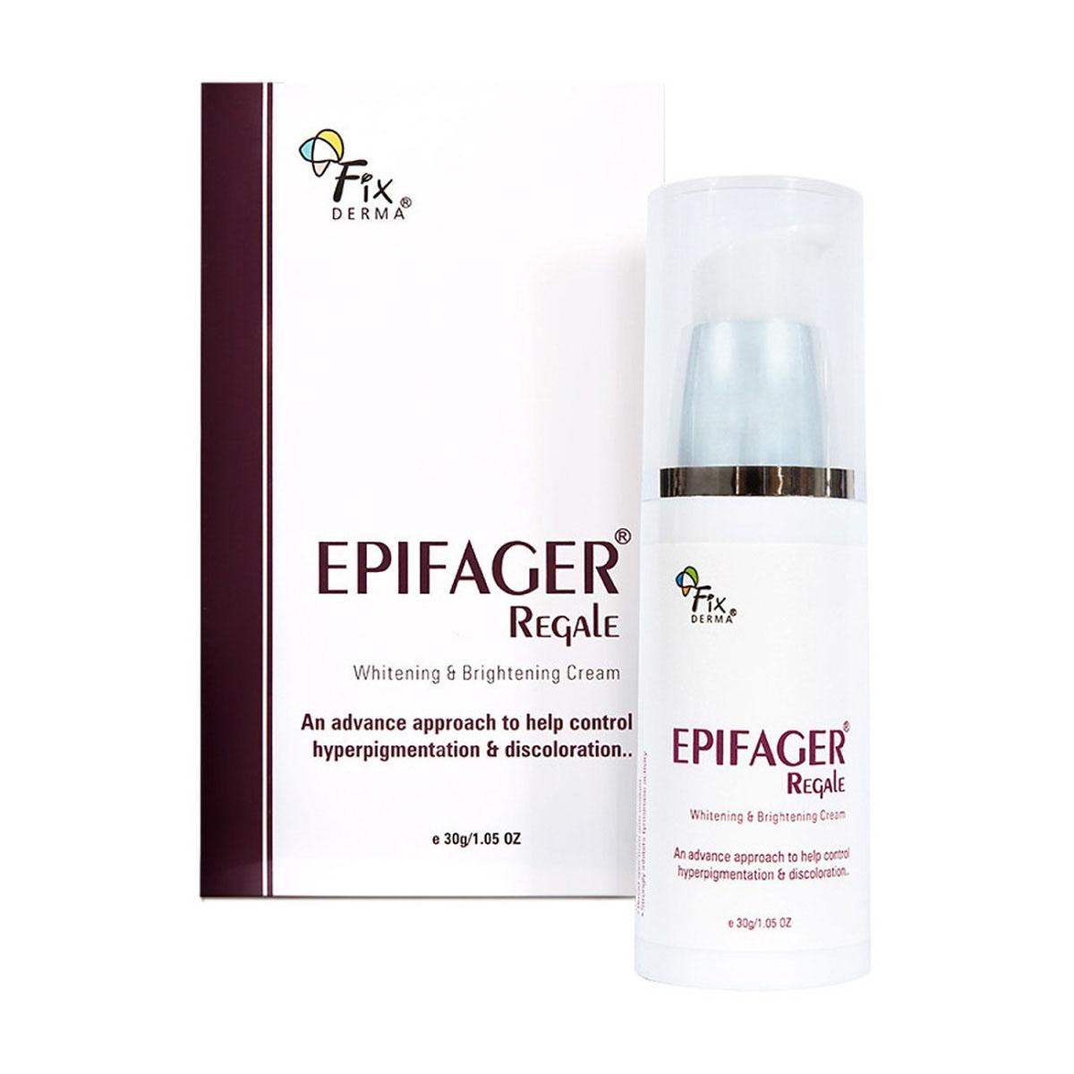 Kem Trị Nám – Trắng Da Cao Cấp Fixderma Epifager Ragale Cream (30g)