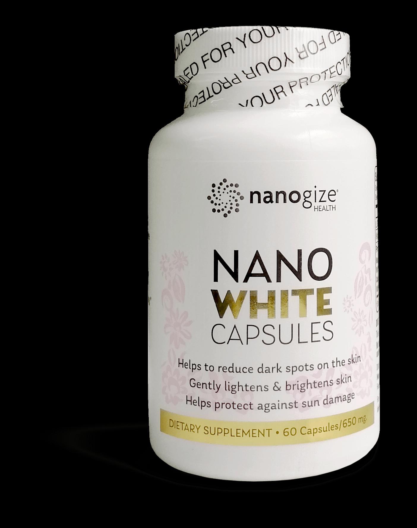 Viên uống trắng da Nanogize Health – Nano White Capsules
