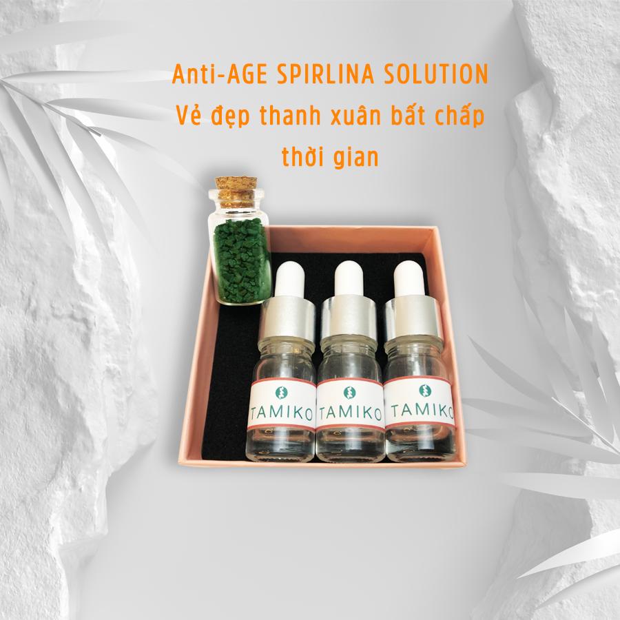 Tinh chất serum chống lão hóa, ngăn ngừa lão hóa từ tảo xoắn Spirulina Nhật Bản