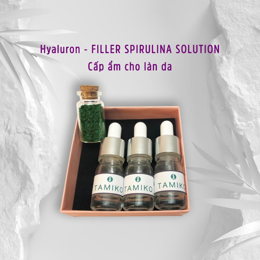 Tinh chất Serum cấp ẩm, dưỡng ẩm từ tảo xoắn Spirulina Nhật Bản
