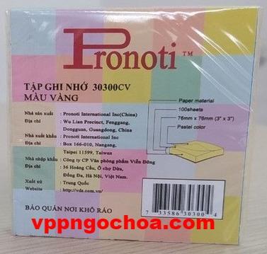 note-pronoti-3-x-3-30300cv