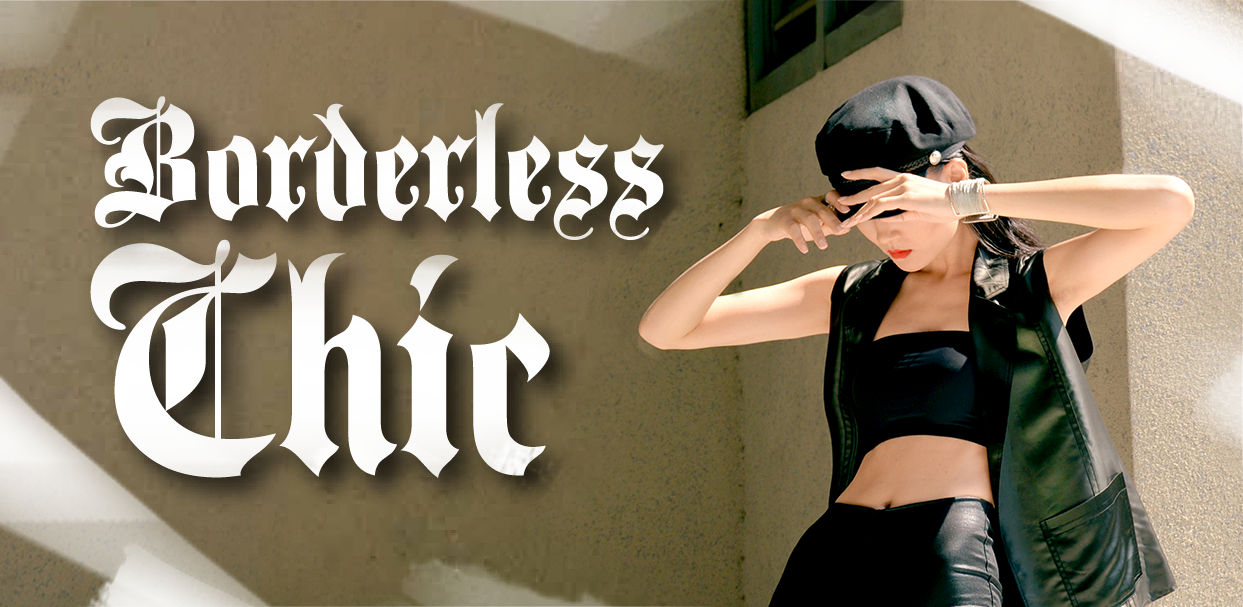 BORDERLESS CHIC - articles in the OI magazine