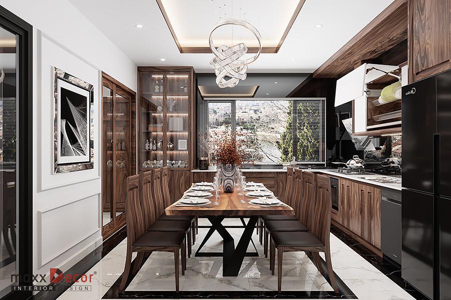 Ngẩn ngơ trước vẻ đẹp kỳ diệu nội thất trong không gian nhà phố
