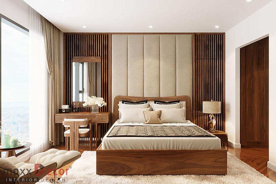 Nội thất căn hộ chung cư 120m tòa King Palace
