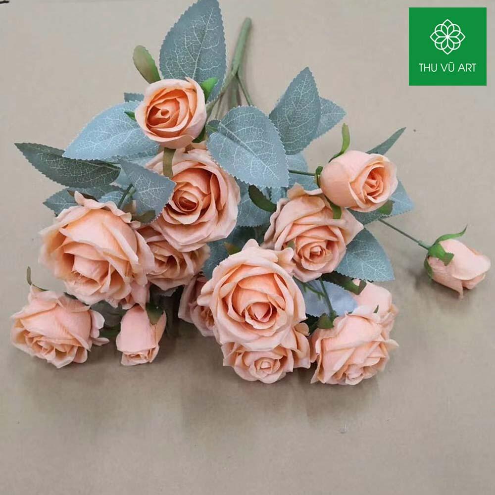 Cụm hồng 15 bông