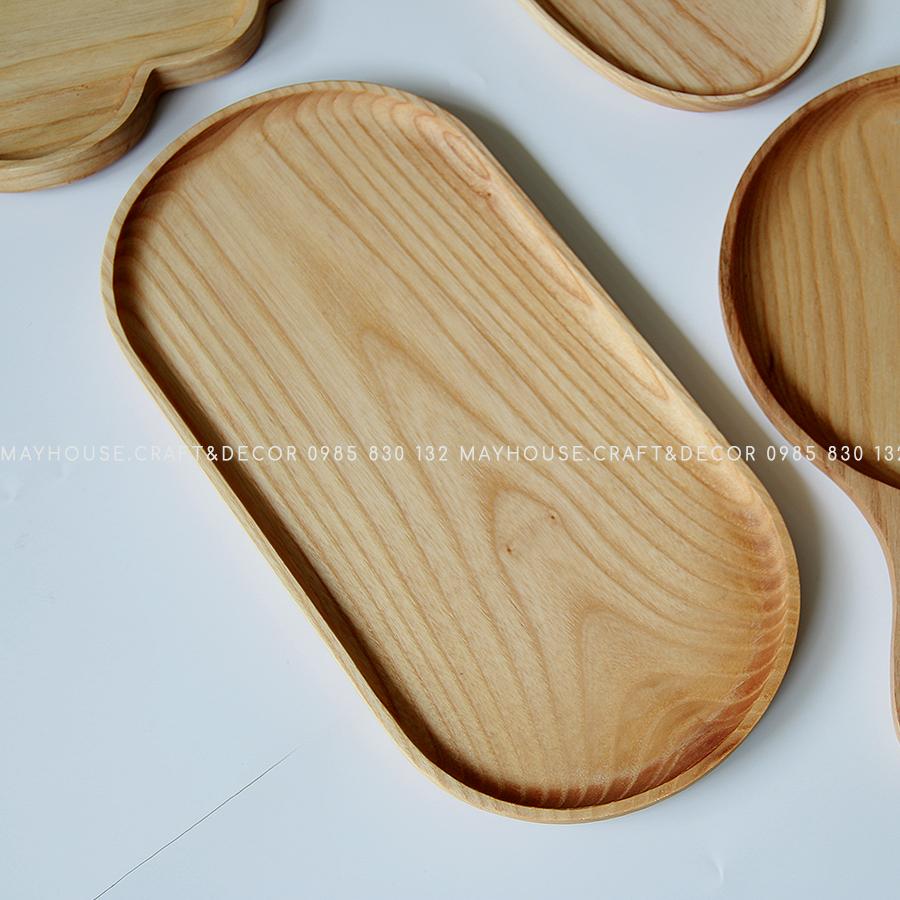 Khay gỗ mini