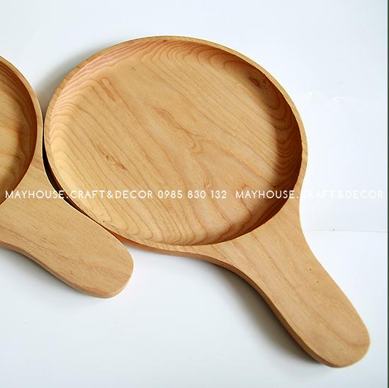 Khay gỗ bóng bàn