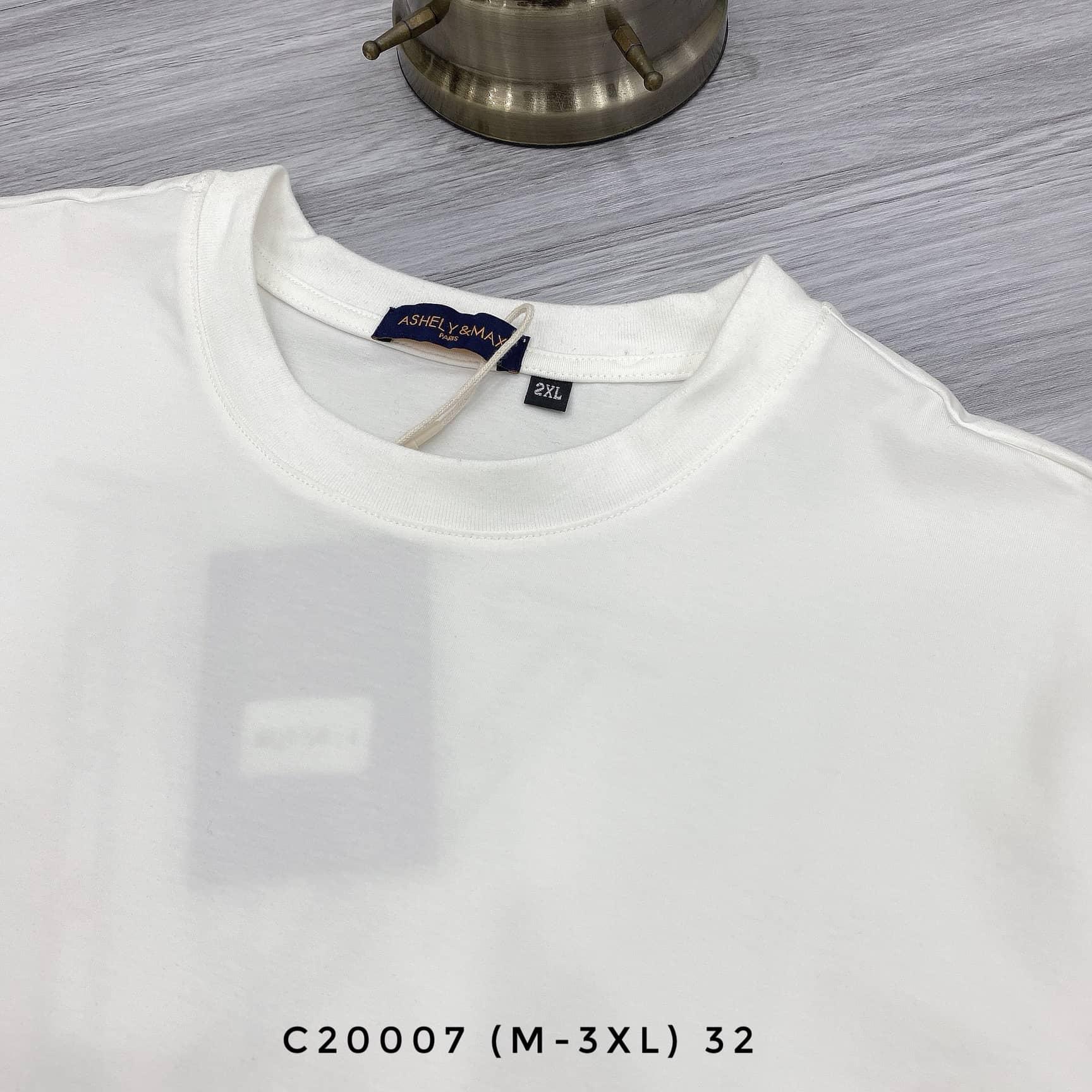AT CỔ TRÒN C20007 (M-3XL)