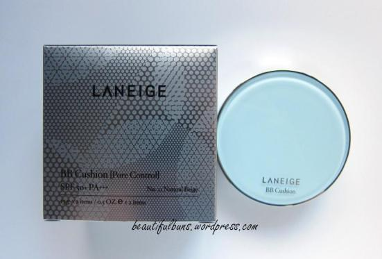 Review kem nền BB Cushion Pore Control của Laneige
