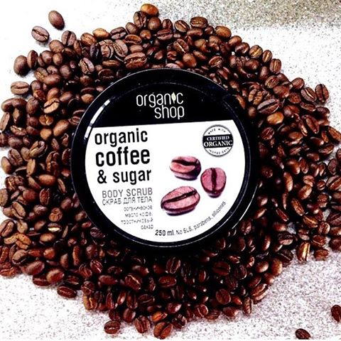 Review | Tẩy Da Chết Toàn Thân Organic Shop Coffee Sugar Body Scrub