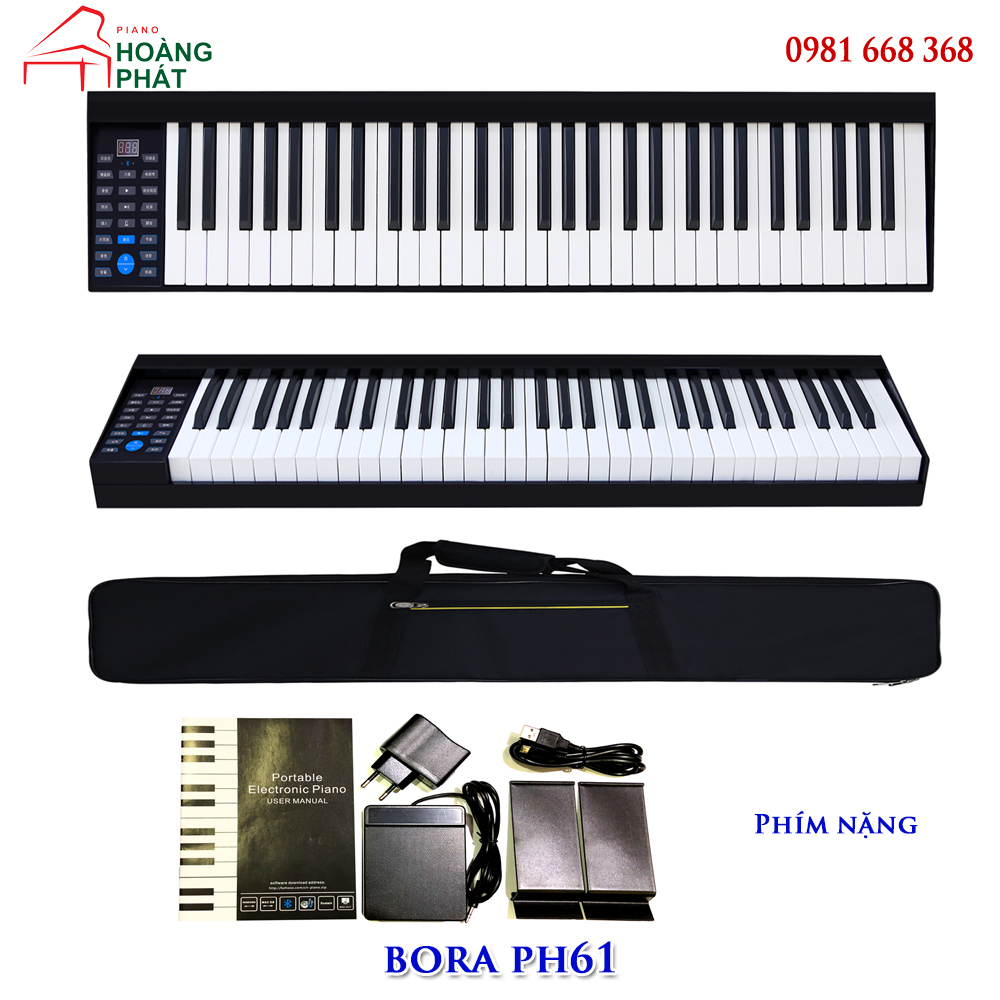 Piano điện BORA PH61