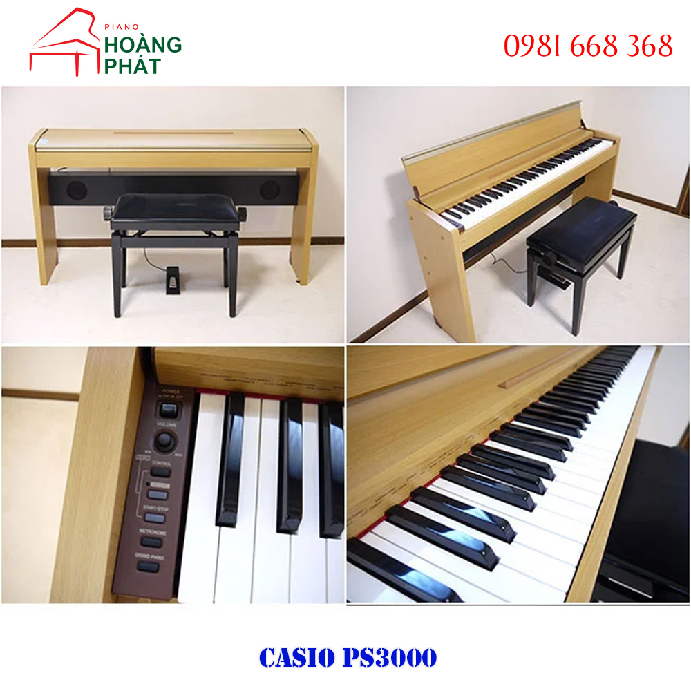 Piano điện CASIO PS3000