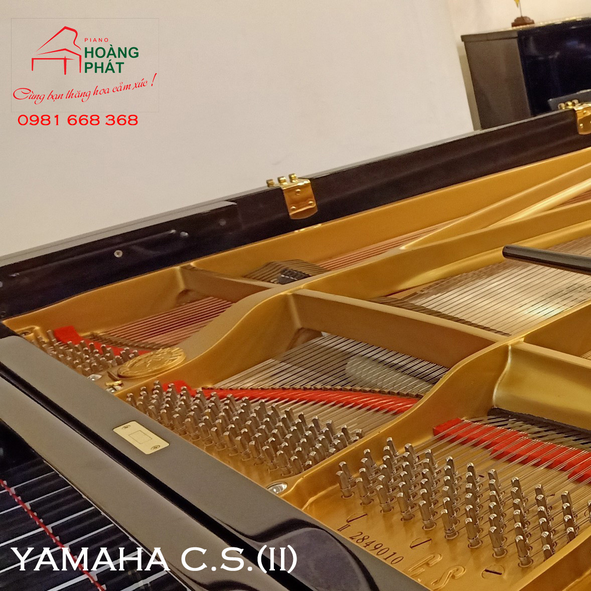 Grand Piano YAMAHA CS (II): Seri 2849010