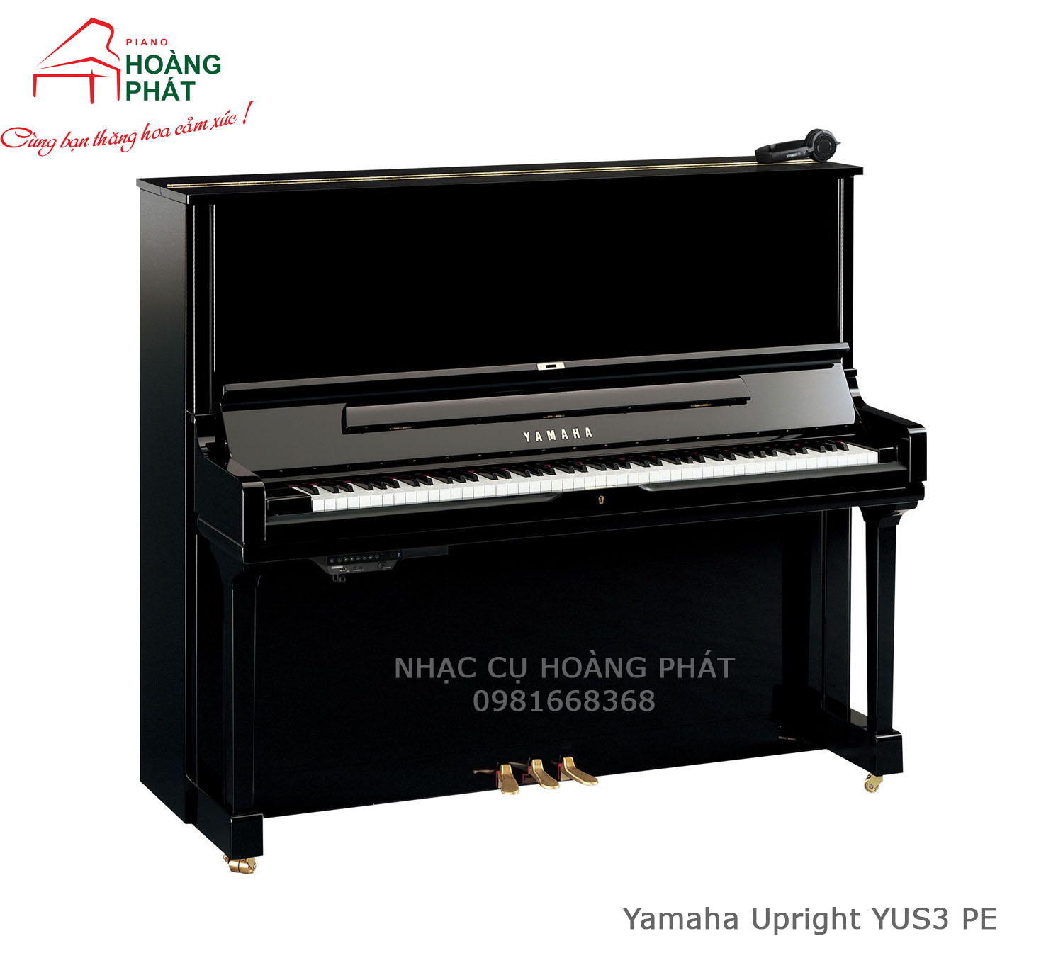 Piano Yamaha Upright YUS3 PE