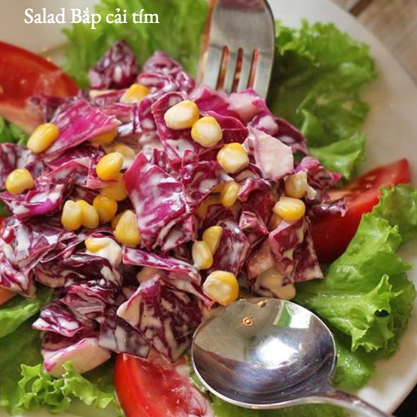 Salad Bắp cải tím