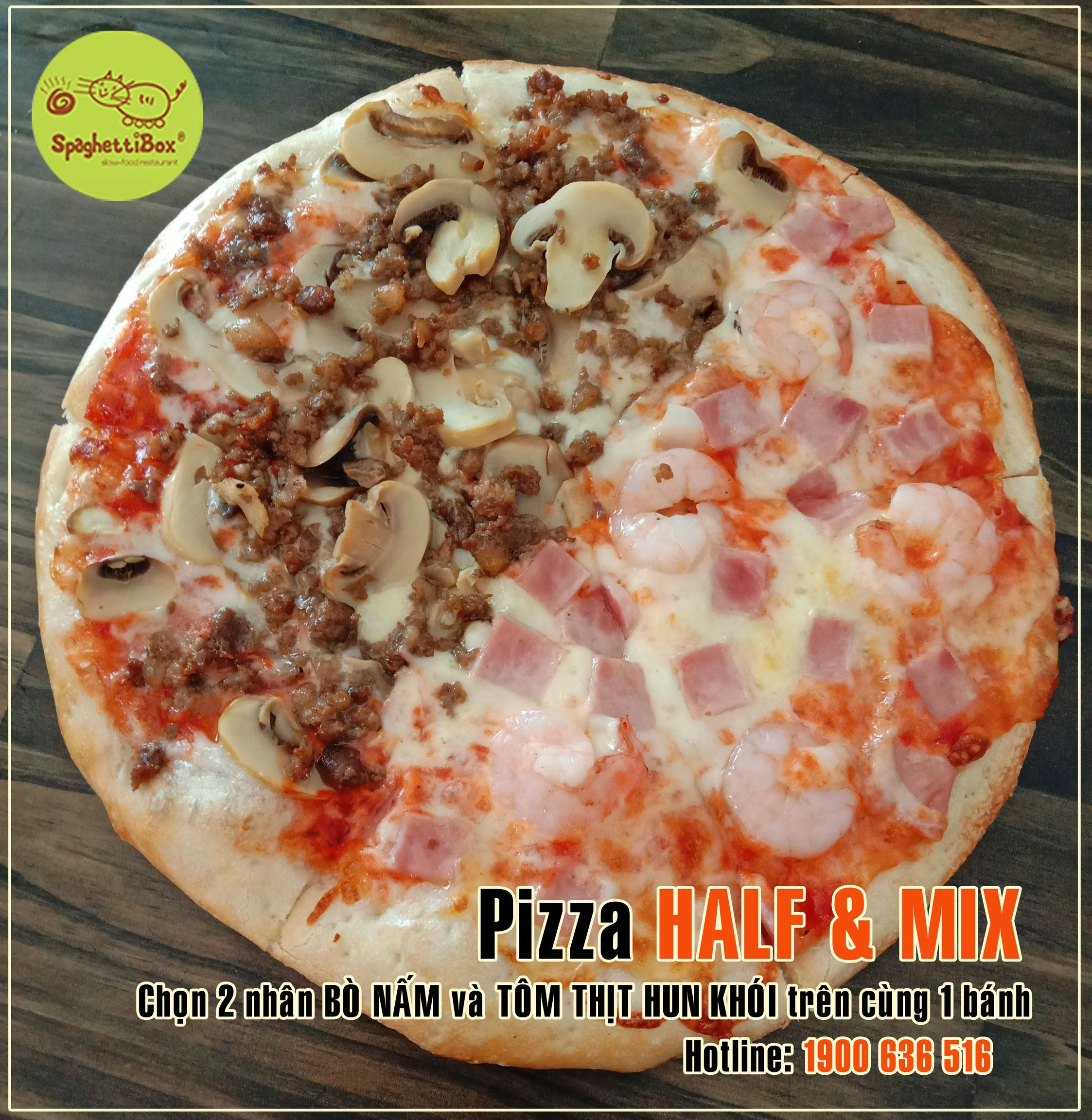 Pizza Half-Mix