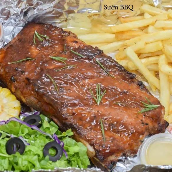 Sườn nướng BBQ - BBQ ribs