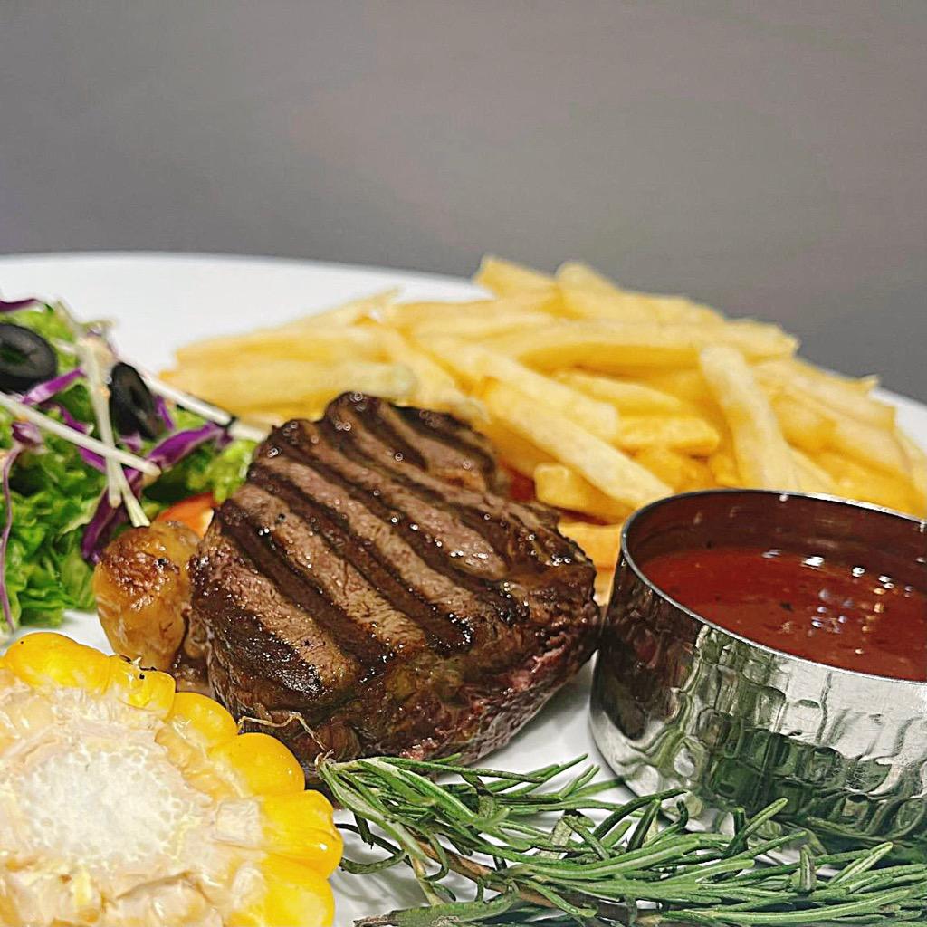 Tenderloin Beef-steak Thăn Nội Bò Úc -  kiểu Âu