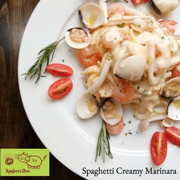 Spaghetti Creamy Marinara