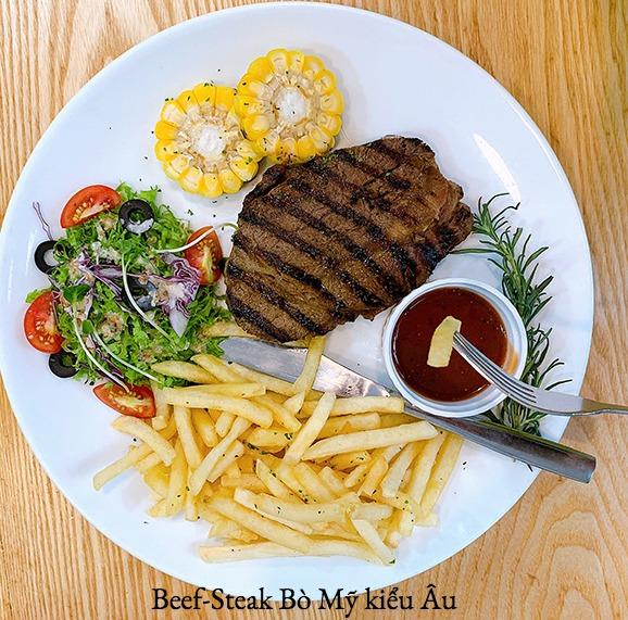 Beef-steak Topblade Lõi vai Bò Mỹ kiểu Âu