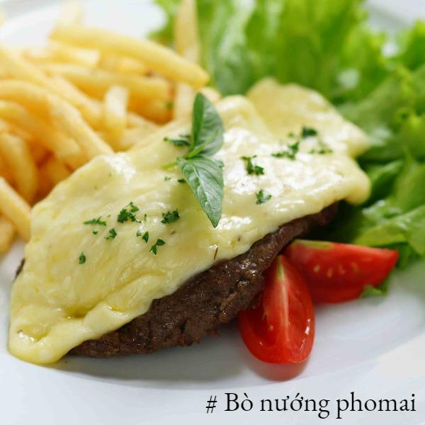 Bò Mỹ nướng Phomat