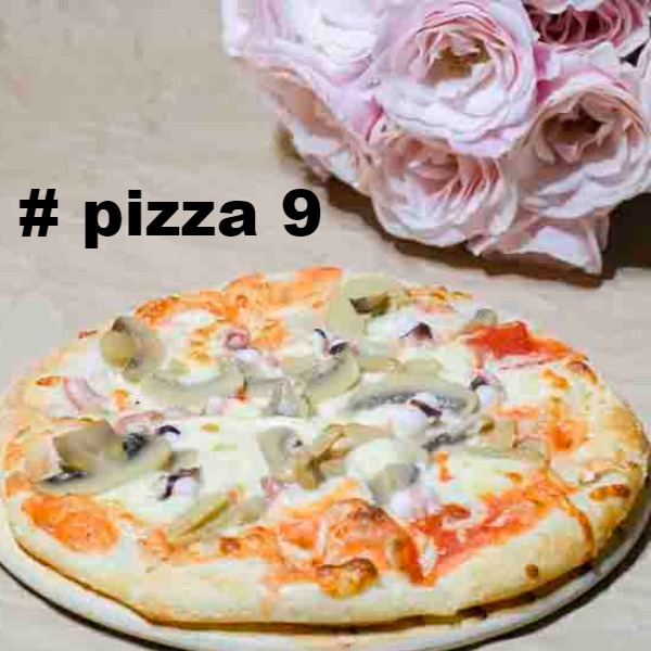 Pizza #9 - Pizza Octopussie