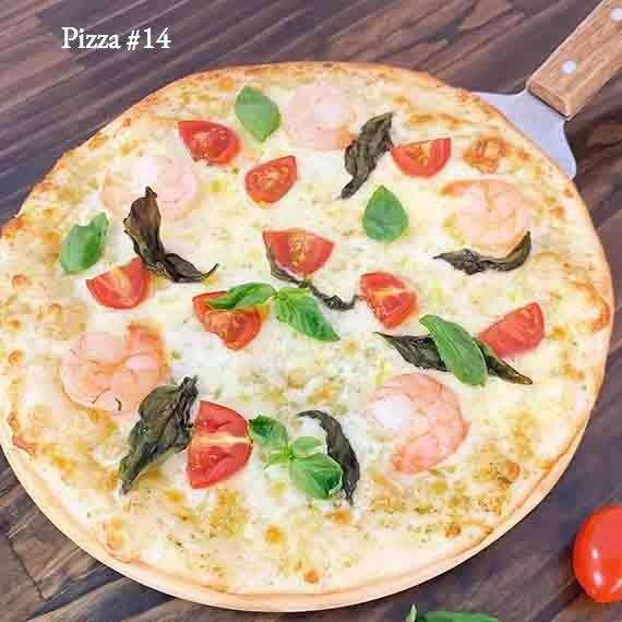 Pizza #14 - Pizza Pesto & Tôm
