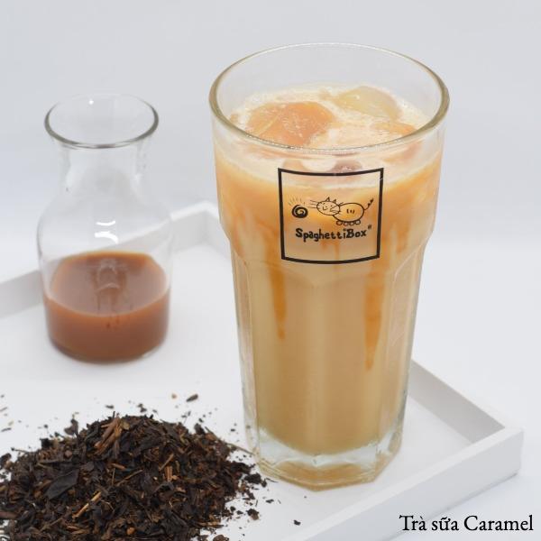 Trà sữa Caramel