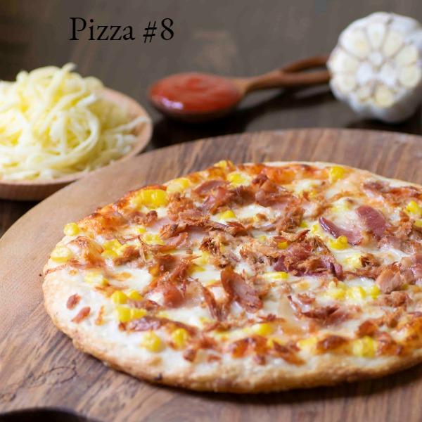 Pizza #8 - Cá ngừ, Thịt hun khói & Ngô